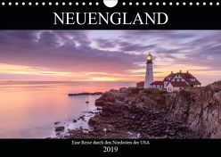 NEUENGLAND – Eine Reise durch den Nordosten der USA (Wandkalender 2019 DIN A4 quer) von Büchler & Martin Büchler,  Christine
