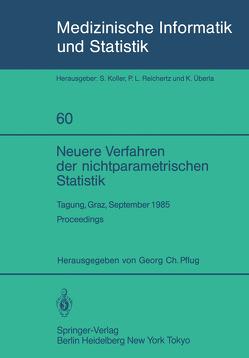 Neuere Verfahren der nichtparametrischen Statistik von Pflug,  Georg C.
