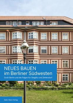 Neues Bauen im Berliner Südwesten von Hausmann,  Brigitte, Hoffmann,  Friedhelm