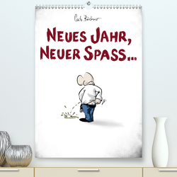 NEUES JAHR, NEUER SPASS… (Premium, hochwertiger DIN A2 Wandkalender 2020, Kunstdruck in Hochglanz) von Büchner,  Carlo