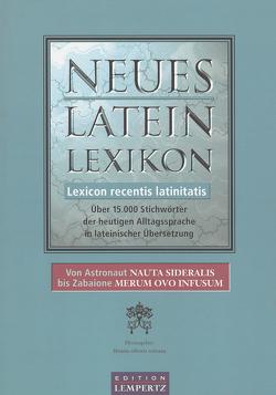 Neues Latein-Lexikon – Lexicon recentis latinitatis