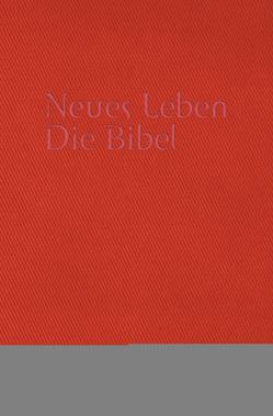 Neues Leben. Die Bibel. Taschenausgabe, ital. Kunstleder piemont-rot