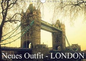 Neues Outfit – LONDON (Wandkalender 2018 DIN A4 quer) von Adam,  Ulrike