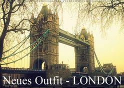 Neues Outfit – LONDON (Wandkalender 2019 DIN A2 quer) von Adam,  Ulrike