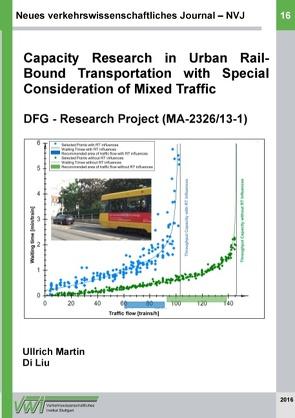 Neues verkehrswissenschaftliches Journal – Ausgabe 16 von Liu,  Di, Martin,  Ullrich