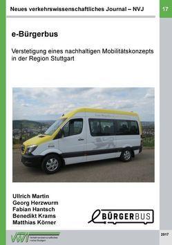Neues verkehrswissenschaftliches Journal – Ausgabe 17 von Benedikt,  Krams, Fabian,  Hantsch, Georg,  Herzwurm, Martin,  Ullrich, Matthias,  Körner