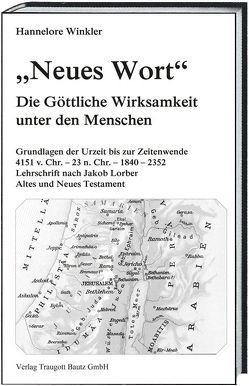 """""""Neues Wort"""" von Winkler,  Hannelore"""