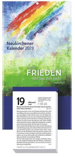 Neukirchener Kalender 2019 von Fricke-Hein,  Hans-Wilhelm, Holl,  Christel, Lutz,  Samuel, Marschner,  Ralf