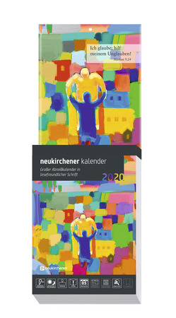 Neukirchener Kalender 2020 – Großer Abreißkalender in lesefreundlicher Schrift von Fricke-Hein,  Hans-Wilhelm, Lutz,  Samuel, Marschner,  Ralf, Reichert,  Dietmar