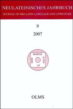Neulateinisches Jahrbuch von Laureys,  Marc, Neuhausen,  Karl A
