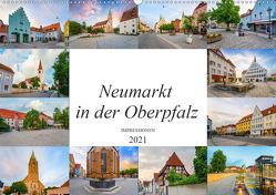 Neumarkt in der Oberpfalz Impressionen (Wandkalender 2021 DIN A2 quer) von Meutzner,  Dirk