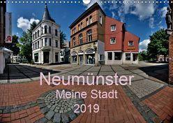 Neumünster – Meine Stadt (Wandkalender 2019 DIN A3 quer) von Steenblock,  Ewald
