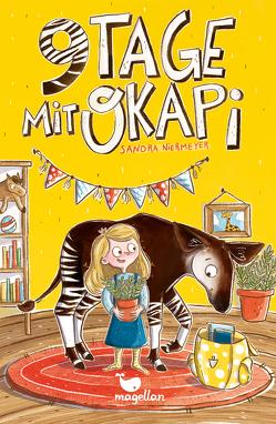 Neun Tage mit Okapi von Niermeyer,  Sandra, Opheys,  Caroline
