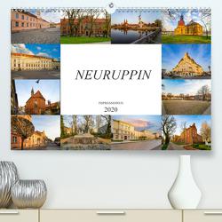 Neuruppin Impressionen (Premium, hochwertiger DIN A2 Wandkalender 2020, Kunstdruck in Hochglanz) von Meutzner,  Dirk