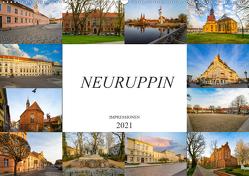 Neuruppin Impressionen (Wandkalender 2021 DIN A2 quer) von Meutzner,  Dirk