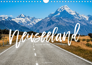 Neuseeland – Am Ende der Welt (Wandkalender 2020 DIN A4 quer) von Becker,  Stefan
