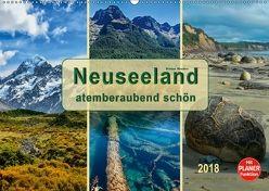 Neuseeland – atemberaubend schön (Wandkalender 2018 DIN A2 quer) von Roder,  Peter