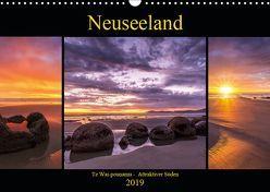 Neuseeland – Attraktiver Süden (Wandkalender 2019 DIN A3 quer) von Klinder,  Thomas