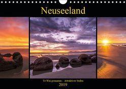 Neuseeland – Attraktiver Süden (Wandkalender 2019 DIN A4 quer) von Klinder,  Thomas