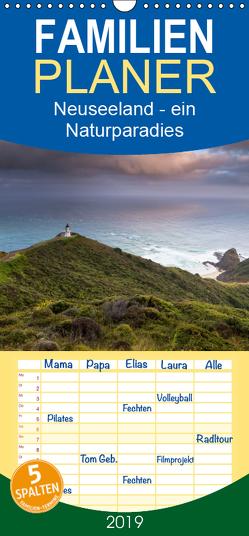 Neuseeland – ein Naturparadies – Familienplaner hoch (Wandkalender 2019 , 21 cm x 45 cm, hoch) von kalender365.com