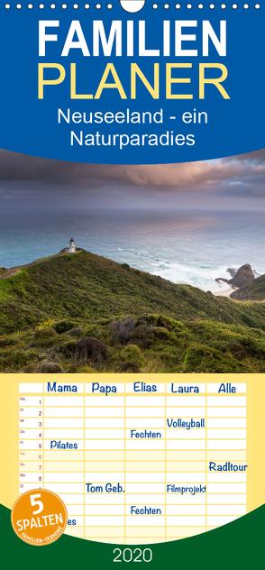Neuseeland – ein Naturparadies – Familienplaner hoch (Wandkalender 2020 , 21 cm x 45 cm, hoch) von kalender365.com