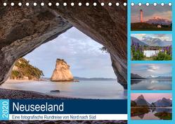 Neuseeland – Eine fotografische Rundreise von Nord nach Süd (Tischkalender 2020 DIN A5 quer) von Kruse,  Joana