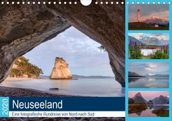 Neuseeland – Eine fotografische Rundreise von Nord nach Süd (Wandkalender 2020 DIN A4 quer) von Kruse,  Joana