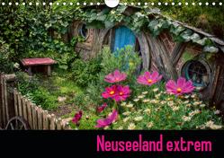 Neuseeland extrem (Wandkalender 2021 DIN A4 quer) von Waldhelm,  Jutta