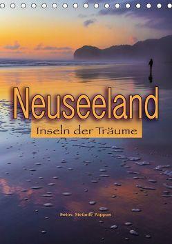 Neuseeland, Inseln der Träume (Tischkalender 2019 DIN A5 hoch) von Pappon,  Stefanie