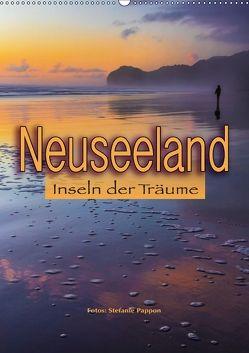 Neuseeland, Inseln der Träume (Wandkalender 2018 DIN A2 hoch) von Pappon,  Stefanie