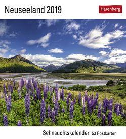 Neuseeland – Kalender 2019 von Harenberg, Krahmer,  Frank