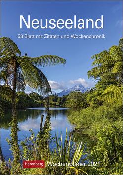 Neuseeland Kalender 2021 von Harenberg, Krahmer,  Frank