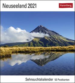 Neuseeland Kalender 2021 von Gerth,  Roland, Harenberg