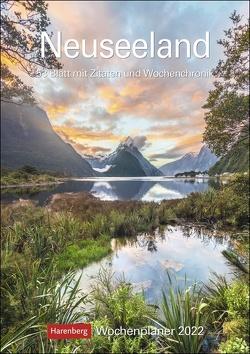 Neuseeland Kalender 2022 von Harenberg