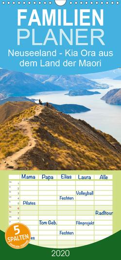 Neuseeland – Kia Ora aus dem Land der Maori – Familienplaner hoch (Wandkalender 2020 , 21 cm x 45 cm, hoch) von Photonovels