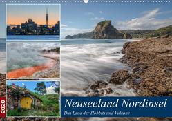 Neuseeland Nordinsel – Das Land der Hobbits und Vulkane (Wandkalender 2020 DIN A2 quer) von Kruse,  Joana