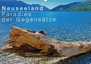 Neuseeland – Paradies der Gegensätze (Wandkalender 2020 DIN A2 quer) von Schaefer,  Nico