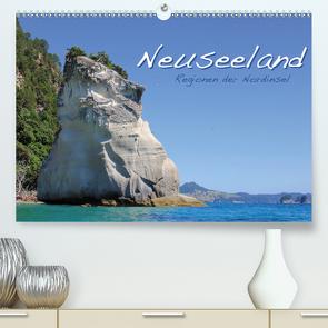 Neuseeland – Regionen der Nordinsel (Premium, hochwertiger DIN A2 Wandkalender 2021, Kunstdruck in Hochglanz) von Thiem-Eberitsch,  Jana