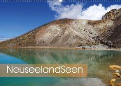 Neuseeland-Seen (Wandkalender 2018 DIN A2 quer) von Flori0,  k.A.