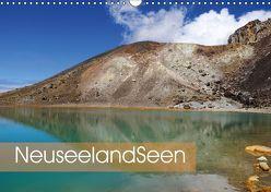 Neuseeland-Seen (Wandkalender 2018 DIN A3 quer) von Flori0,  k.A.