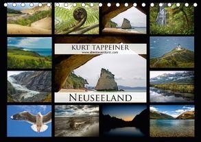Neuseeland (Tischkalender 2018 DIN A5 quer) von Tappeiner,  Kurt
