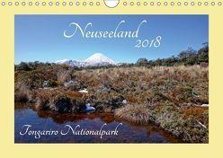 Neuseeland – Tongariro Nationalpark (Wandkalender 2018 DIN A4 quer) von Bürschgens,  Isabel