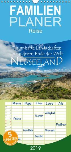 Neuseeland – Traumhafte Landschaften am anderen Ende der Welt – Familienplaner hoch (Wandkalender 2019 , 21 cm x 45 cm, hoch) von Möller,  Werner