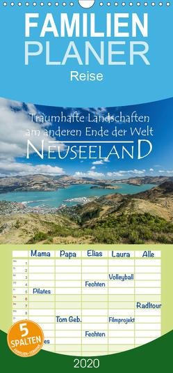 Neuseeland – Traumhafte Landschaften am anderen Ende der Welt – Familienplaner hoch (Wandkalender 2020 , 21 cm x 45 cm, hoch) von Möller,  Werner
