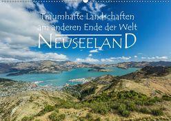 Neuseeland – Traumhafte Landschaften am anderen Ende der Welt (Wandkalender 2019 DIN A2 quer) von Möller,  Werner