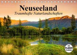 Neuseeland. Traumhafte Naturlandschaften (Tischkalender 2018 DIN A5 quer) von Stanzer,  Elisabeth