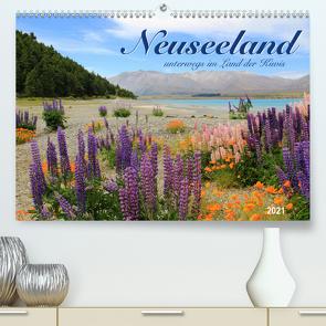 Neuseeland – unterwegs im Land der Kiwis (Premium, hochwertiger DIN A2 Wandkalender 2021, Kunstdruck in Hochglanz) von Thiem-Eberitsch,  Jana