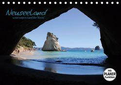 """Neuseeland – unterwegs im Land der """"Kiwis"""" (Tischkalender 2019 DIN A5 quer) von Thiem-Eberitsch,  Jana"""