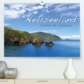 Neuseeland – Vielfalt der Südinsel (Premium, hochwertiger DIN A2 Wandkalender 2021, Kunstdruck in Hochglanz) von Thiem-Eberitsch,  Jana