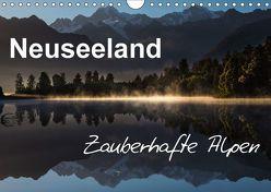 Neuseeland – Zauberhafte Alpen (Wandkalender 2018 DIN A4 quer) von BÖHME,  Ferry